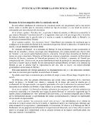 Dario Ergas - Investigación sobre la conciencia moral