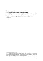 Federico Palumbo - La inspiración en el Surrealismo (Versión corregida en Diciembre de 2012)