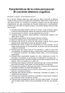 Fernando Garcia - Características de la crisis psicosocial (El creciente deterioro cognitivo)