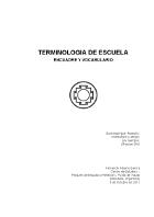 Fernando Garcia - Terminología de Escuela - Encuadre y vocabulario