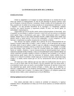 Guillermo Sullings - La internalización de la moral