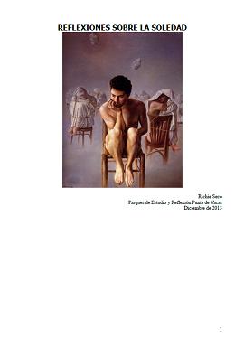 Richie Seco - Reflexiones sobre la soledad