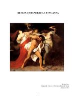 Richie Seco - Reflexiones sobre la venganza